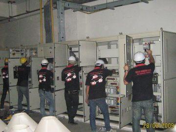 บริการบำรุงรักษาตู้ควบคุมการจ่ายไฟฟ้าหลัก (MDB)