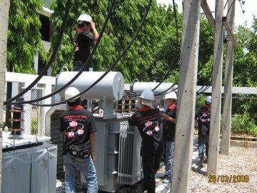 บริการบำรุงรักษาหม้อแปลงไฟฟ้า/ Load Break Switch